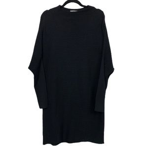 H by Halston Dolman Sleeve Ribbed Sweater Dress